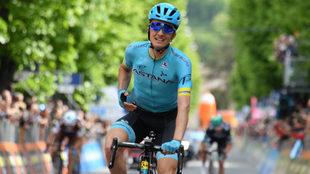 Pello Bilbao y su primer gran triunfo en una competencia grande
