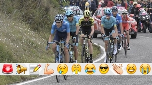 El Giro de Italia llega a su primera semana de competencia