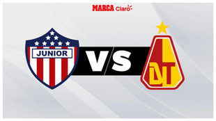Junior vs Tolima, horario y dónde ver en TV.
