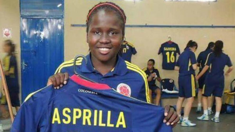 Encuentran sin vida a la joven futbolista Leidy Asprilla