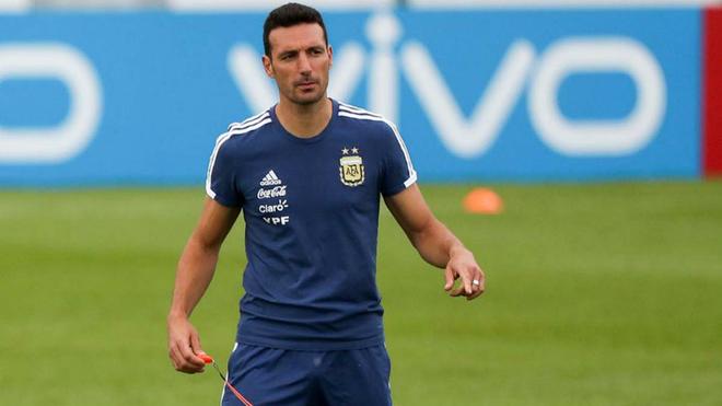 Scaloni, selección de Argentina