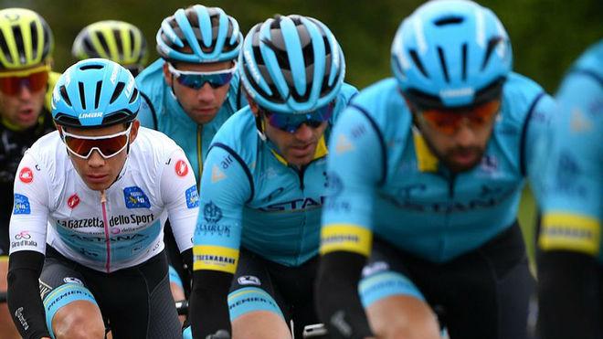 La 12ª etapa del Giro de Italia, minuto a minuto