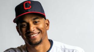 Óscar Mercado y su sonrisa de llegar a las Grandes Ligas / Twitter