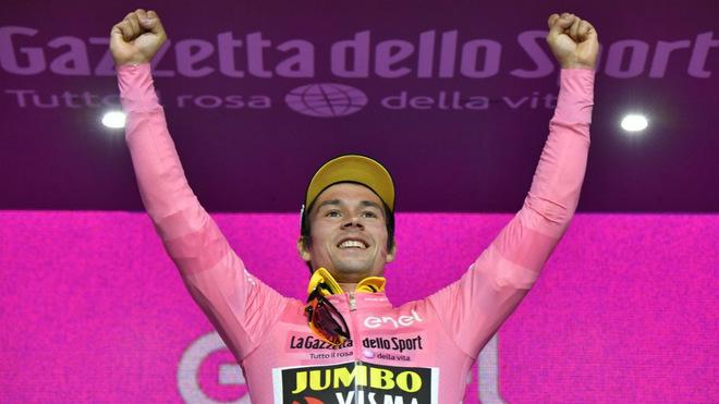 Roglic ya fue líder del Giro de Italia 2019