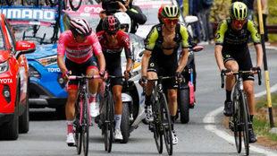 La 14ª etapa del Giro de Italia, minuto a minuto