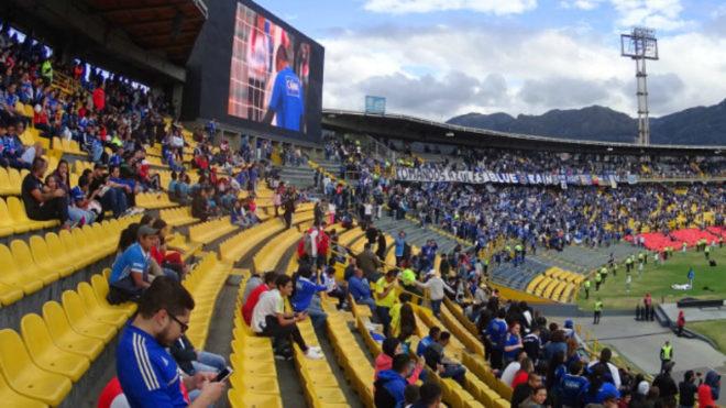 Fútbol: Millonarios y Pasto empatan sin goles en el primer tiempo