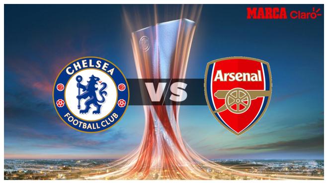 Chelsea vs Arsenal, horario y dónde ver por TV la final de la Europa...
