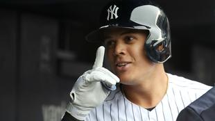 Giovanny Urshela completó tres cuadrangulares con los Yankees.