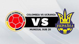 Colombia vs Ucrania, por los cuartos de final del Mundial Sub 20 de...