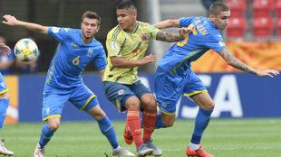 Colombia vs Ucrania, por el paso a semifinales