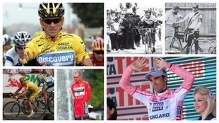 Armstrong, Cobo Contador y Landis, algunos nombres de esta particular...