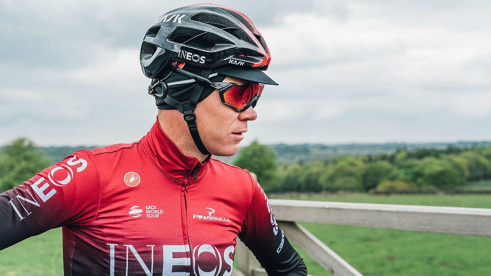 Chris Froome, en una etapa del Dauphiné.
