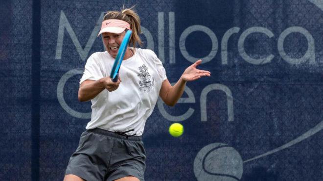 Mallorca Open: Triunfal e imponente regreso de Maria Sharapova