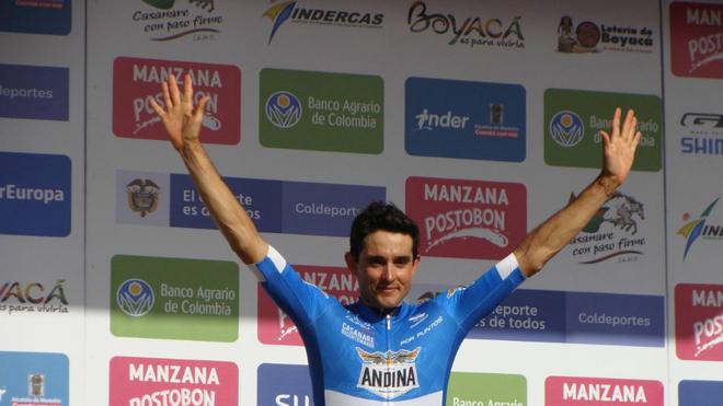 Sevilla y un nuevo podio en la Vuelta a Colombia