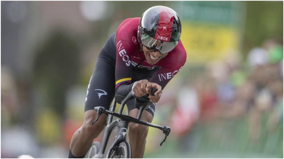 Sensacional día de Anacona y Egan en la Vuelta a Suiza