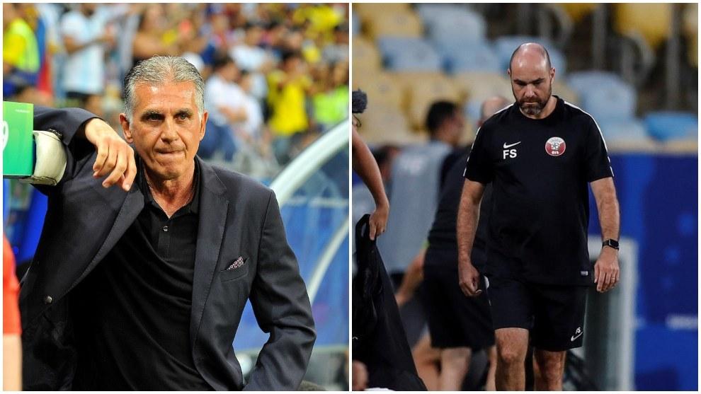 Dos europeos que se ven las caras en Brasil.