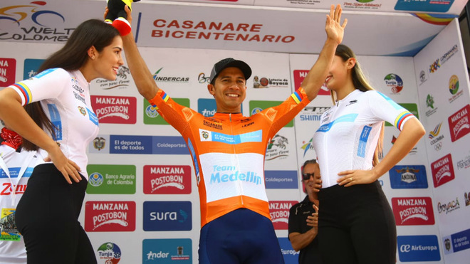 El Team Medellín domina la Vuelta a Colombia