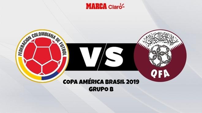 Colombia vs Qatar, posibles alineaciones.