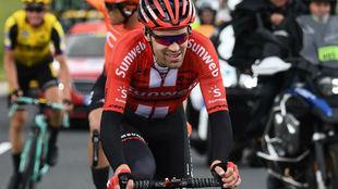 El neerlandés del Team Sunweb será una baja sensible para la...
