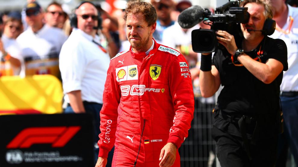 Sebastian Vettel, el nuevo piloto de Racing Point.