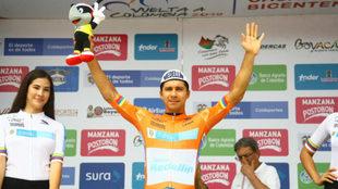 Oyola en un nuevo podio de Vuelta / Alberto Urrego / Mundo Ciclístico