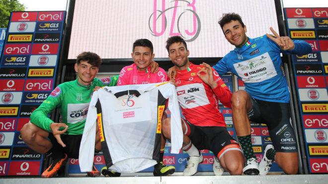 Un nuevo podio para el colombiano Ardila en territorio italiano