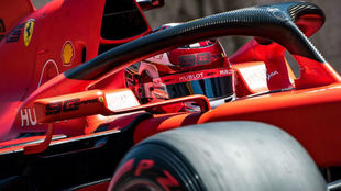 Leclerc en acción en Austria