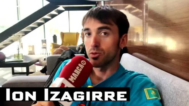 Ion Izagirre, cara a cara con MARCA