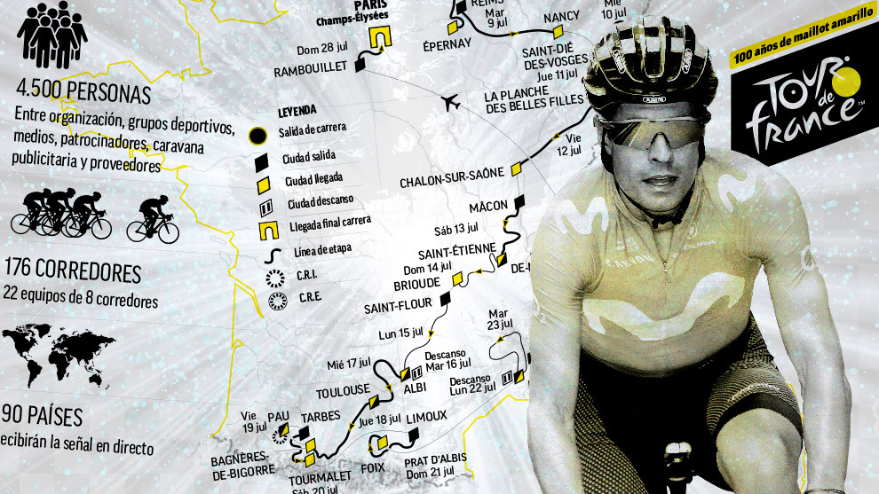 Con caídas y sorpresas comenzó en Bruselas el Tour de Francia 2019