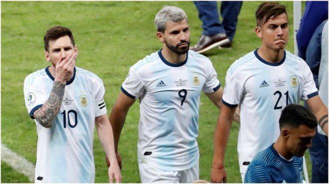 Messi, Agüero y Dybala, en la Copa América