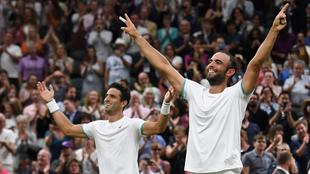 Cabal y Farah logran la hazaña de un primer Grand Slam para Colombia