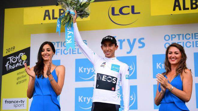 Egan Bernal es el mejor joven del Tour de Francia 2019