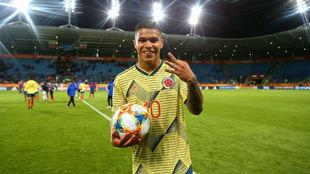 El momento de su 'Hat Trick' en el último Mundial Sub-20.