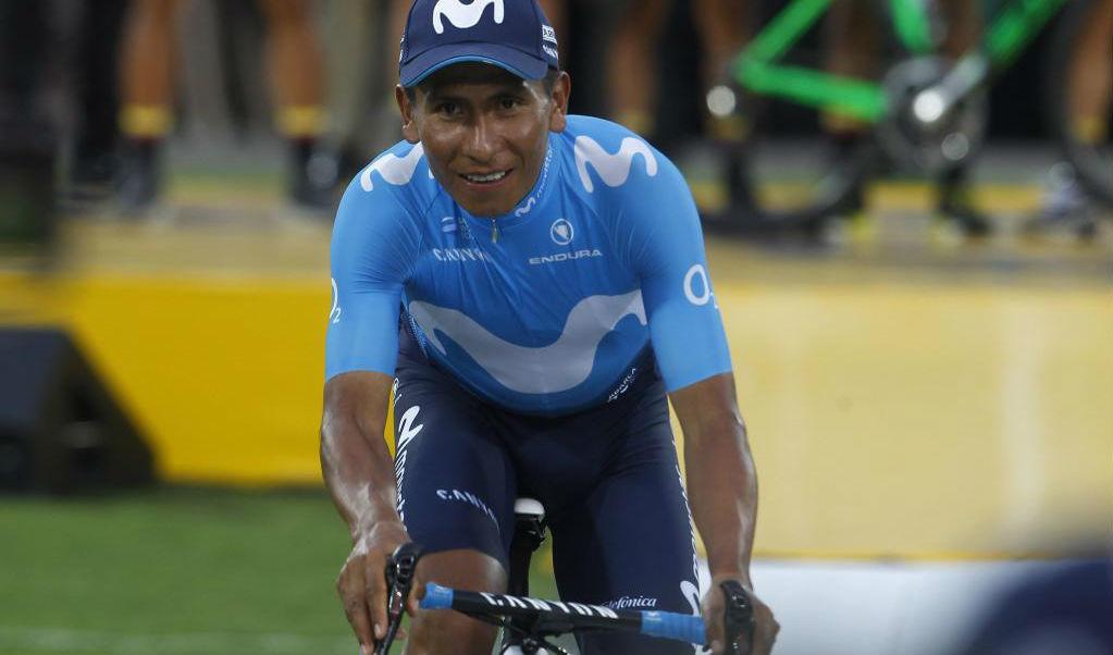 Nairo Quintana en una imagen de esta temporada.