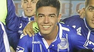 Luciano Pizarro, futbolista detenido en Mendoza