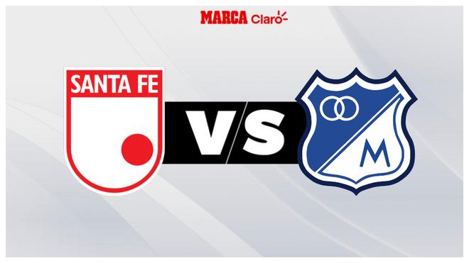 Santa Fe vs Millonario, en vivo el minuto a minuto