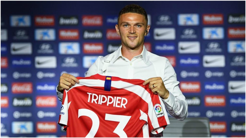 Kieran Trippier es nuevo jugador del Atlético de Madrid procedente del Tottenham Hotspur.