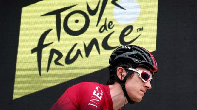 Geraint Thomas durante el Tour de Francia / Guillaume Horcajuelo