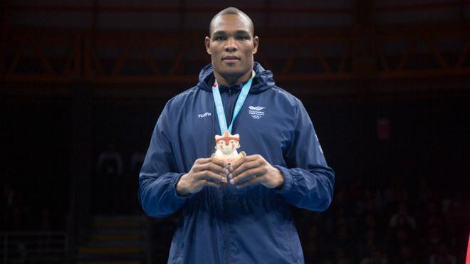 Salcedo con la medalla de plata panamericana / COC