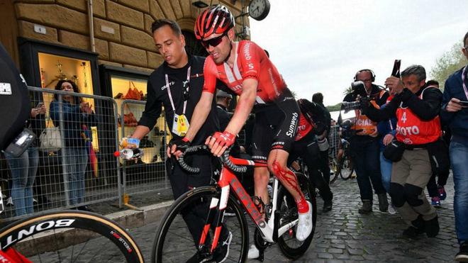 Tom Dumoulin y su abandono del Giro 2019