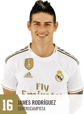 imagen de la web del Real Madrid