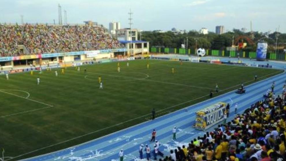 Estadio de Alianza Petrolera, el Daniel Villa Zapata
