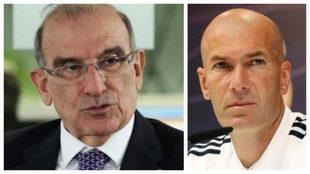 """""""James es un héroe nacional y Zidane lo tiene en la 'seca y..."""
