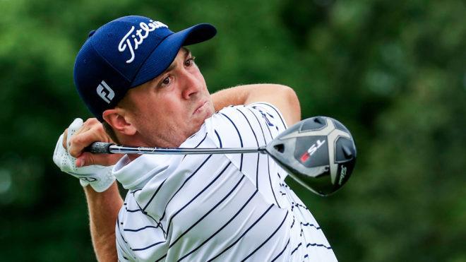 El golfista estadounidense Justin Thomas.