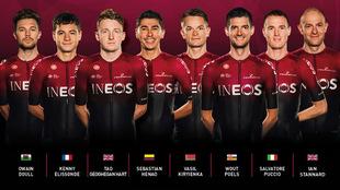 Este es el equipo del Team Ineos para La Vuelta 2019