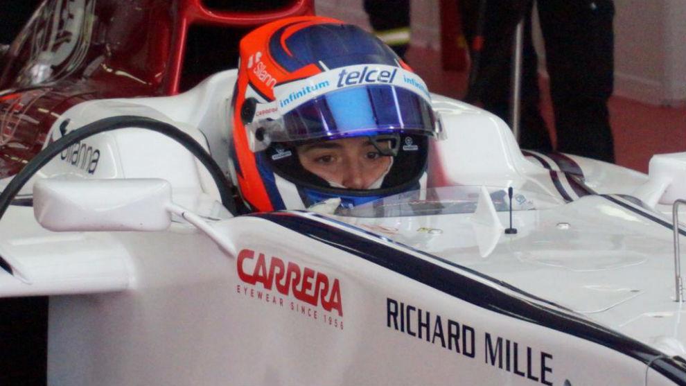 Tatiana probará con el equipo Alfa Romeo Racing de Fórmula 1