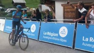 Harold Tejada se quedó con la séptima etapa del Tour del Porvenir.