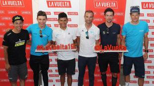 Los favoritos a ganar la Vuelta a España 2019