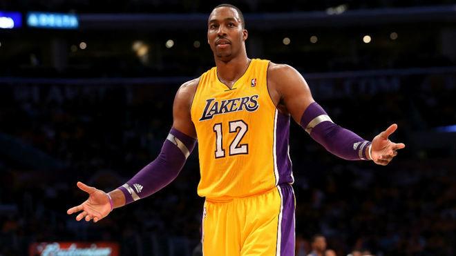 Dwight Howard en su anterior etapa en los Lakers.