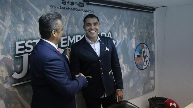 Marco Rodríguez durante su presentación.